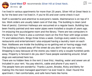 Review of the Silver Hill